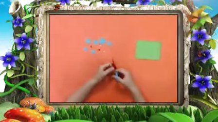 幼儿园手工制作《巧手纸塑之蚕宝宝》手工视频