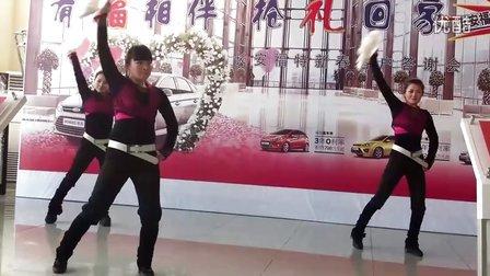 临沂汽车品牌网:长安福特新春客户答谢会在福华福特4s店举行舞蹈