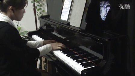 韩红孙楠 美丽的神话 钢琴曲视频