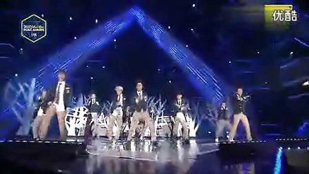 『EXO』『短剧』狼与美女咆哮 中版 131114Melon Music Awards