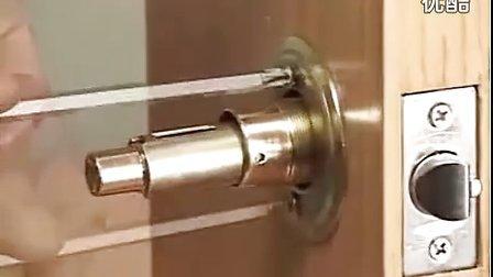 球形锁安装与拆卸