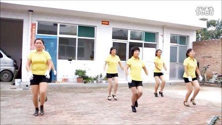 广场舞 《黄梅戏 对花》 西南贾村 阳光姐妹舞蹈