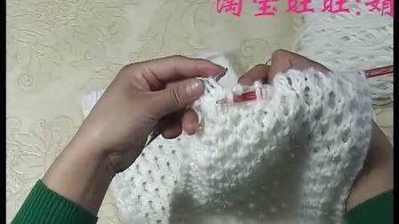 毛线店】围巾编织 蜂窝花的织法