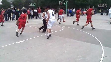 2011贵州大学-明德学院-机电系篮球决赛-上半场