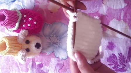 草莓钩针编织图解步骤