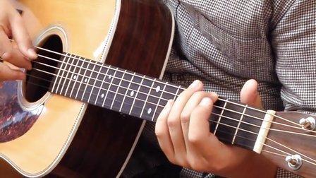 【玄武吉他教室】指弹教学 押尾桑 风之诗Wind song 第二部分 吉他教学