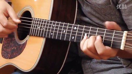 【玄武吉他教室】指弹教学 押尾桑 风之诗wind song第四部分 吉他教学