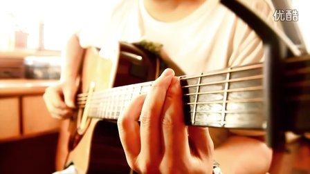 可爱女人 吉他弹唱视频