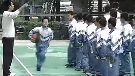 小学六年级体育优质示范课《篮球体前变向换手运动》实录与评说_何伟_视频课堂实录