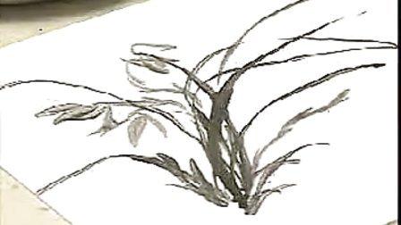中国画____写意兰花的画法