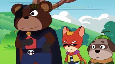 橡树动画原创动画快乐森林好伙伴主题曲