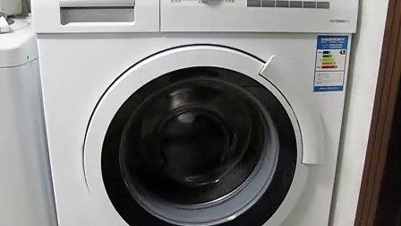 杯具的西门子滚筒洗衣机!抽水泵声音超大