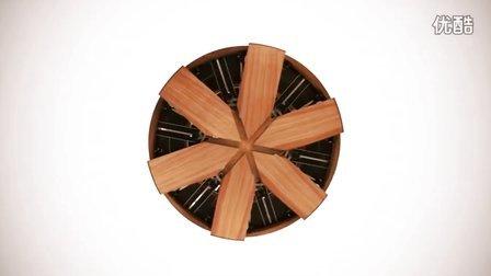 【藤缠楼】神奇的可伸缩大小的圆桌是如何设计和制造的