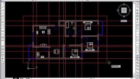cad教程视频 7天学会cad视频教程 第3天 住宅户型图绘制2