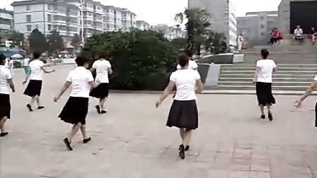 界首七七广场舞-恰恰追梦人