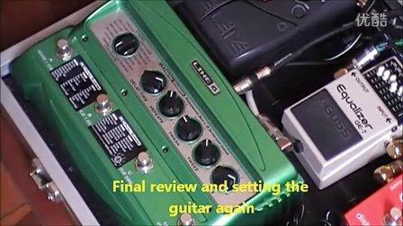 line6 dl4 电吉他 延时 效果器 视听