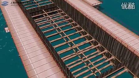 双排拉森钢板桩围堰