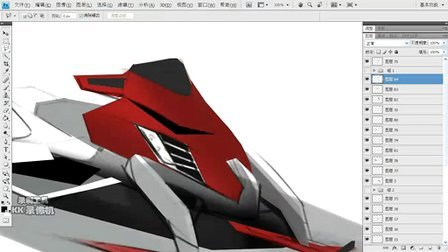 工业设计交通工具手绘(追梦设计工业设计工作室)