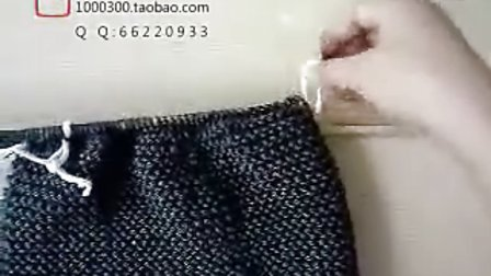毛衣编织视频教程--教你如何编织韩式毛衣09
