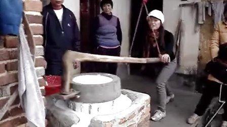 2012家中纯手工制作客家豆腐