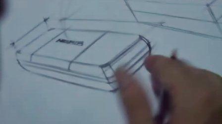工业设计手绘视频—黄山手绘工厂—手机设计产品设计