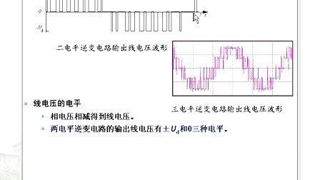 電力電子第22講(多重多電平逆變和全章總結)