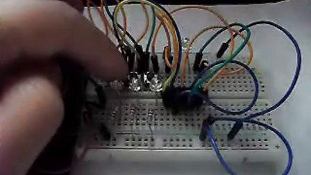 玩转电子制作基础版第35集一起制作:cd4011三人表决器