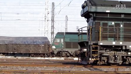 HXN3牵引货列出丰西编组站视频