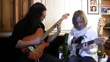 Alex Hutchings and Jess Lewis Little Jazzy Jam