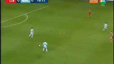 120126 联赛杯半决赛次回合 利物浦2-2曼城 上半场  (泰语)