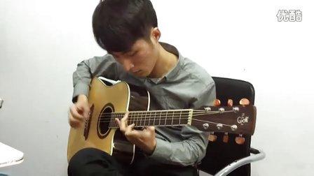 靠谱吉他视频 中川砂仁《Shadowy key》 指弹吉他 蔡宁
