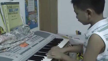 乐乐弹电子琴-编花篮