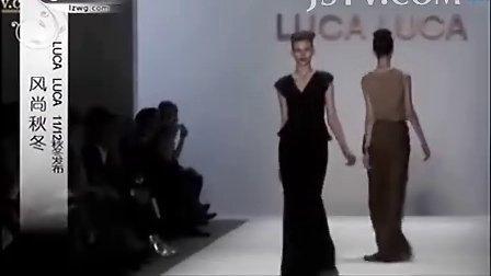 風尚秋冬 LUCA LUCA 2012秋冬發布 黑色冬季 奢華皮草 及膝短裙 搖擺身姿