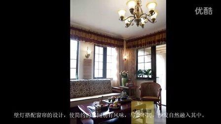 石家庄别墅装修设计实景案例装修效果图:江南新城