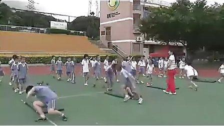 小学二年级体育优质课视频《小猴赛跑》_彭春梅_小学体育优质课视频_视频课堂实录