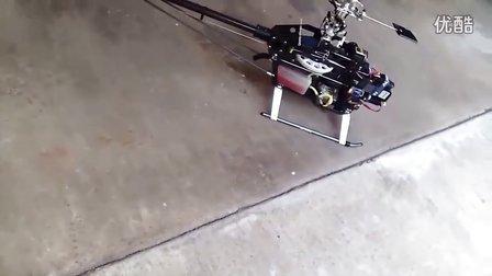 超大飞机发动机启动