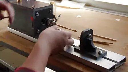 自制木车床步骤图解