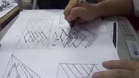 工业设计手绘视频教程—黄山手绘工厂—产品爆炸图绘制产品手绘