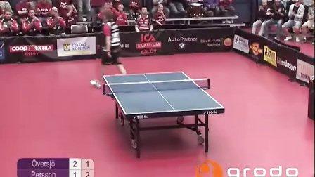 精彩乒乓球-猝不及防的一击