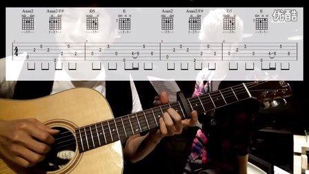Kimberley - 愛你( 翻糖花園)片尾曲 (馬叔叔 吉他教室 115)