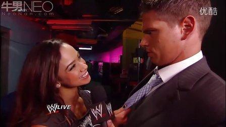 WWE20120604 Josh Mathews questions the look