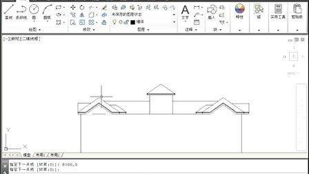 cad住宅建筑图视频教程