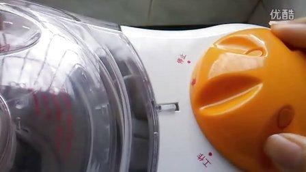 天际豆浆机使用过程
