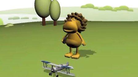 maya 3d动画-小狮子