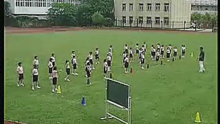 小学二年级体育优质课展示《30米快速跑》_徐斌_视频课堂实录