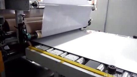 UV饰面板大理石纹转印生产线