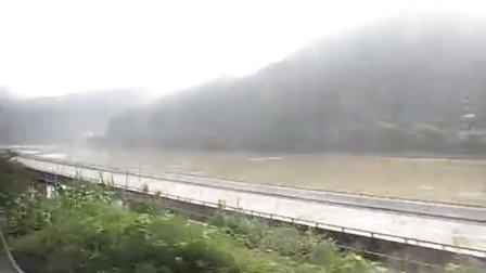 乘L8452次列车回杭州2-1(金温线全程运转)