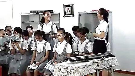 八年级初中音乐优质课视频《高山流水会知音之流水》视频课堂实录