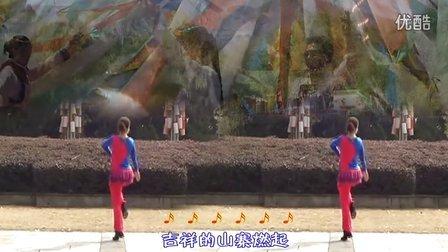 24纯艺舞吧广场舞 欢腾的高原