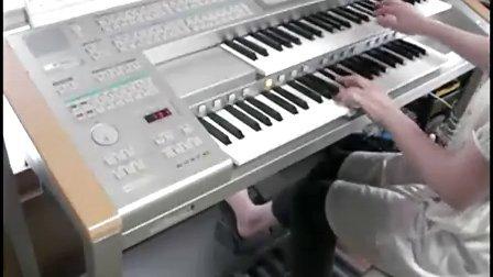双排电子琴演奏